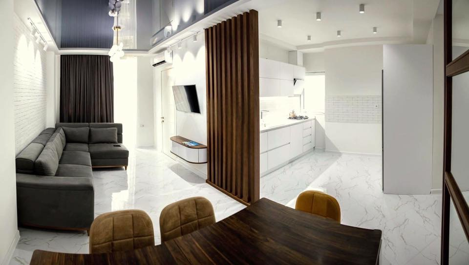 Современная квартира с двумя спальнями