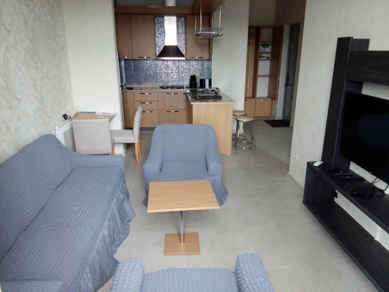 Апартаменты с одной спальней на Первой Линии