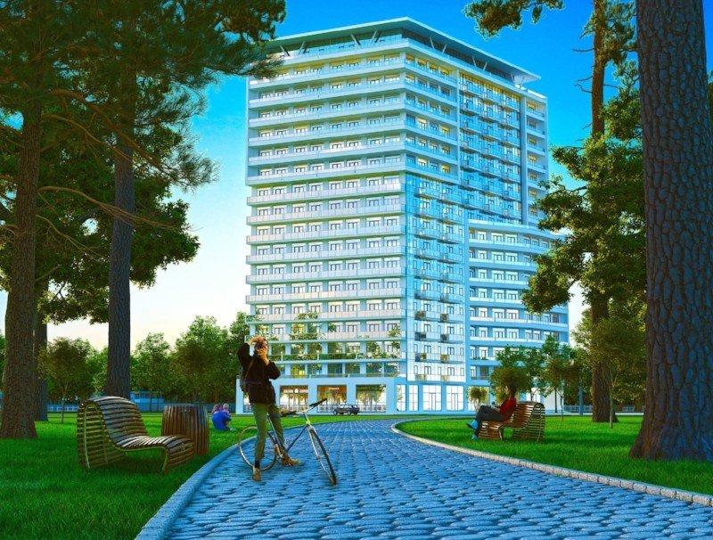 Эксклюзивный жилой комплекс с бассейном Aquamarine Residence