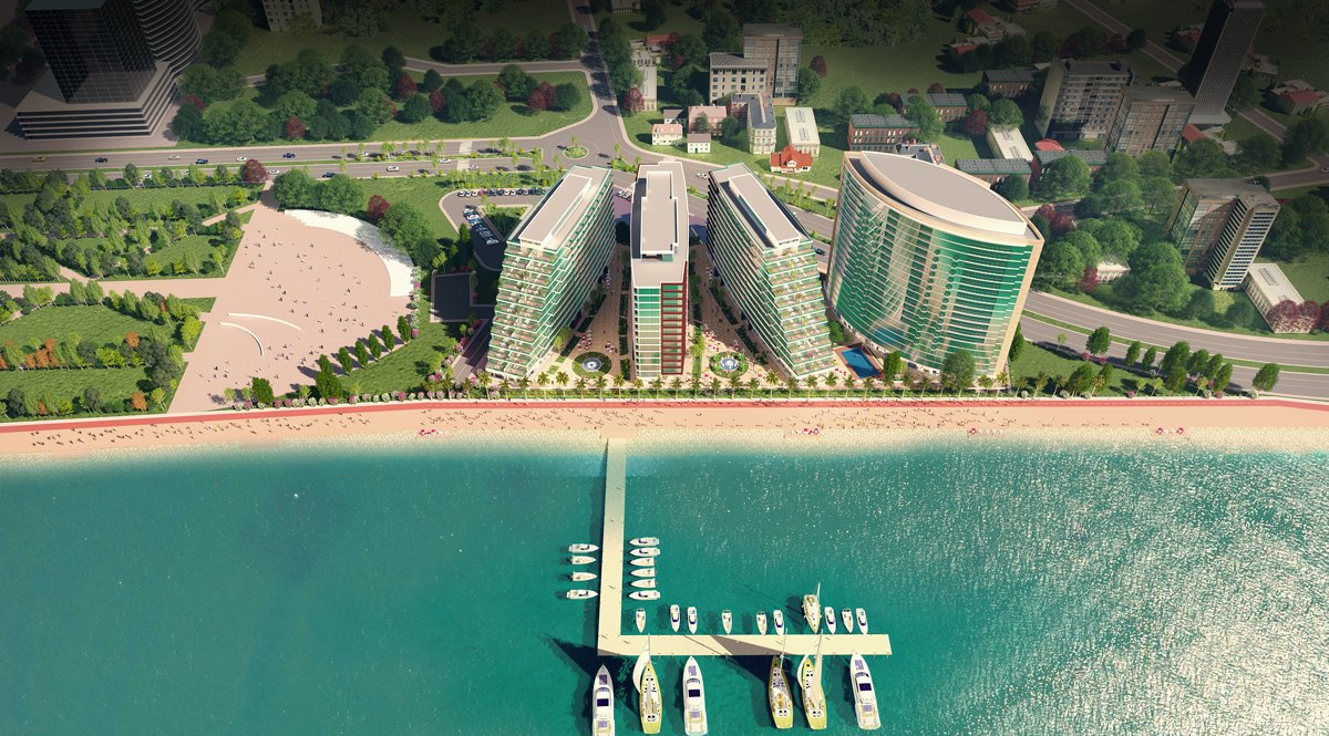 Exclusive project with special Batumi view