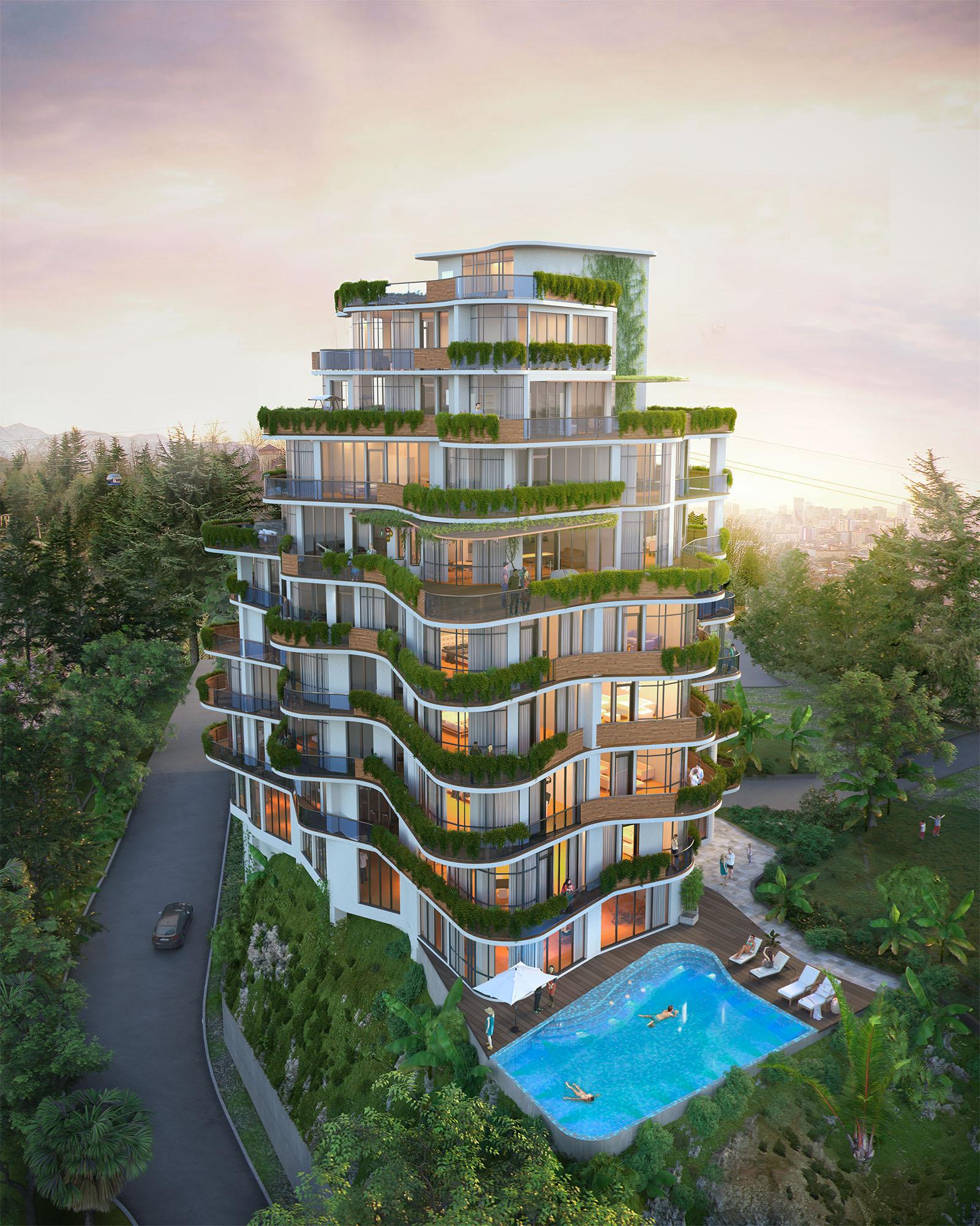 BatumiHills – современный жилой комплекс